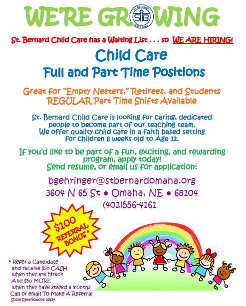Hiring Child Care